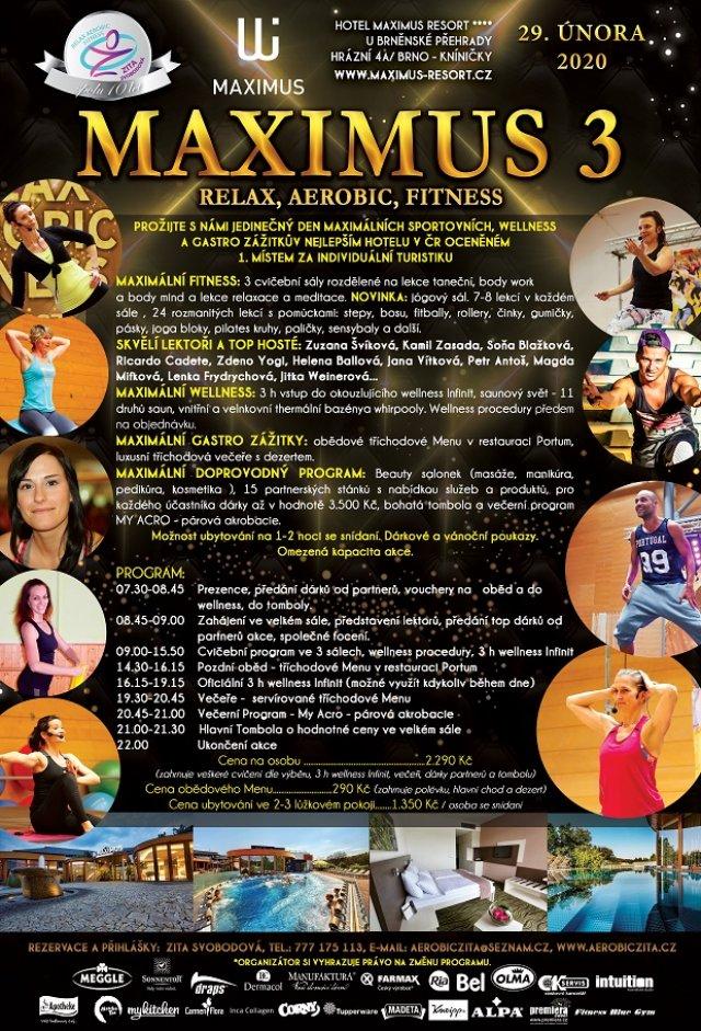 MAXIMUS Relax, Aerobic, Fitness